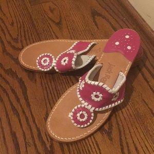 Jack Rogers Hamptons Classic Sandals 7